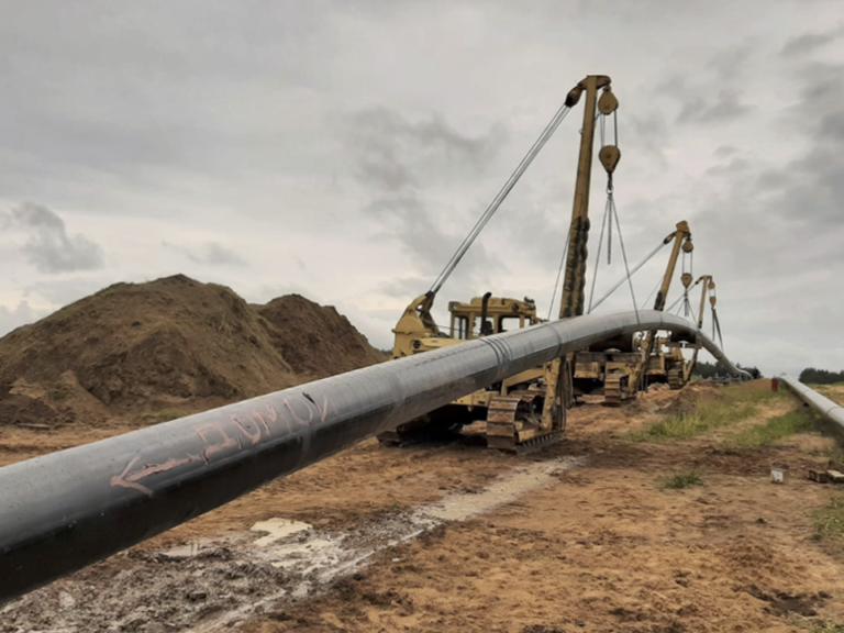 pipeline crossing belarus
