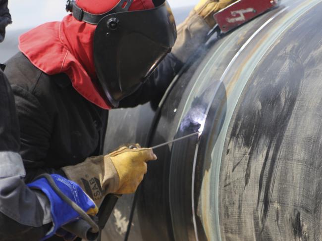 welding works starts